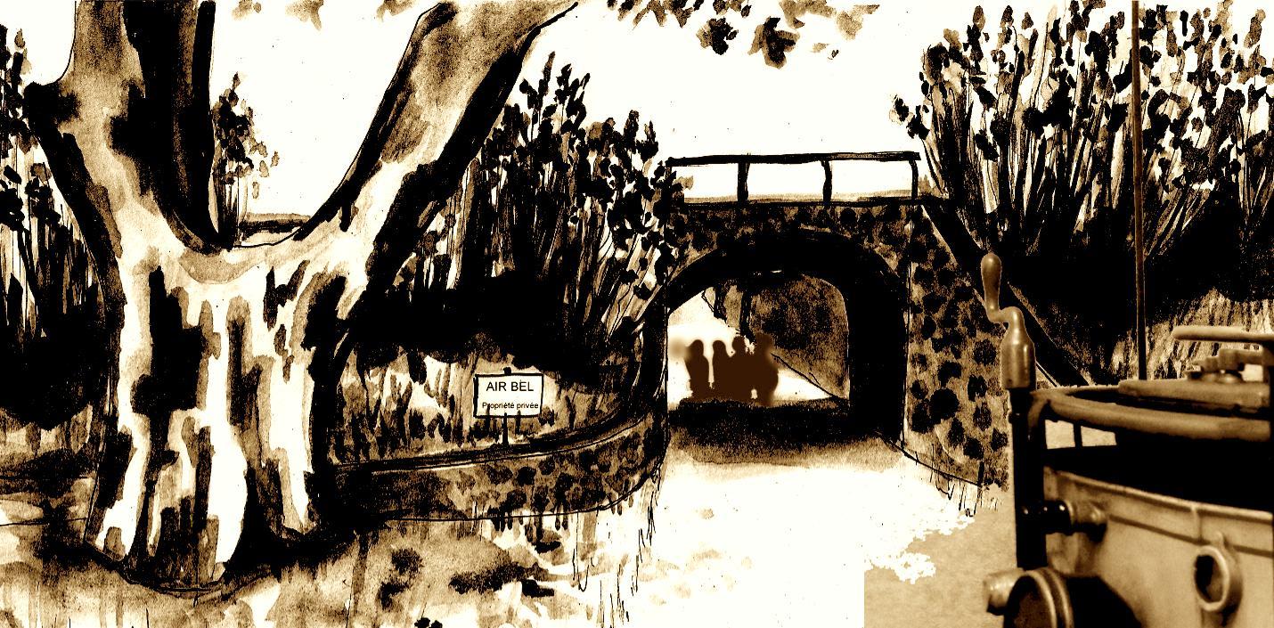 Le pont du 63 av. Lombard